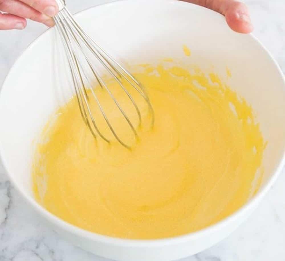làm kem dừa với trứng