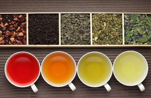 các loại trà ở đài loan