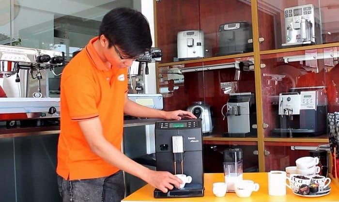 cách bảo quản máy pha cà phê đúng