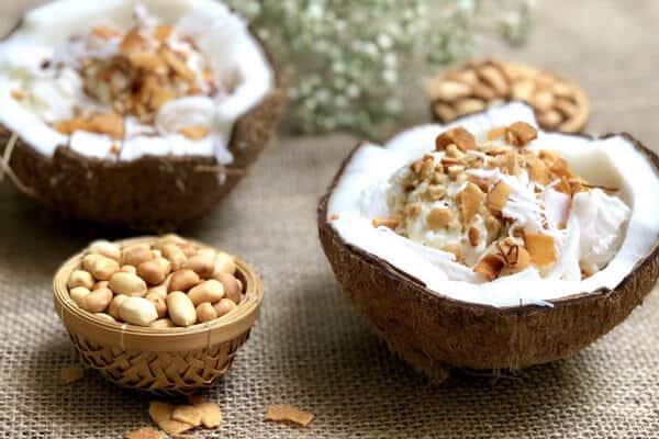 cách làm kem dừa truyền thống