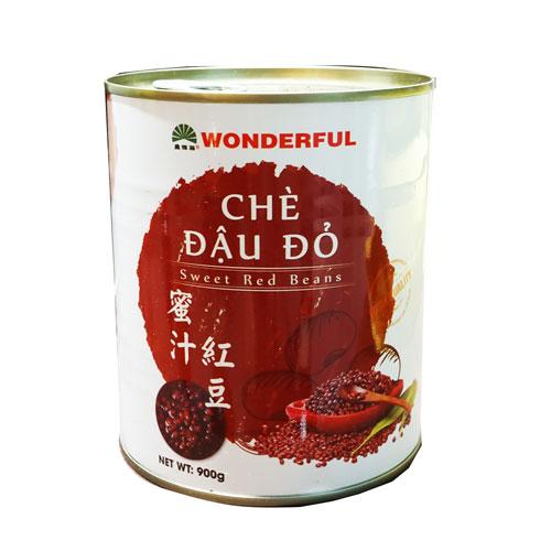 Chè đậu đỏ Wonderful 900g