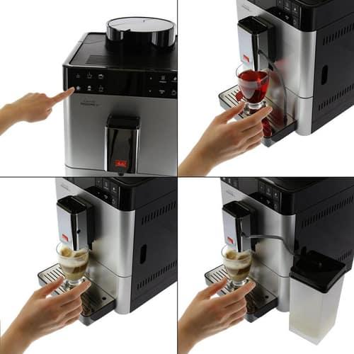 Máy pha cà phê Melitta Caffeo Passione OT có tốt không?
