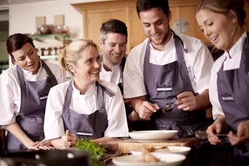 đào tạo đầu bếp