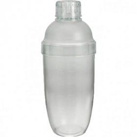 Bình lắc Shaker nhựa 550ml (có vạch)