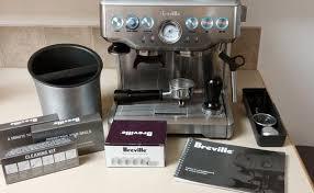 Pha chế Espresso bằng máy pha cà phê Breville