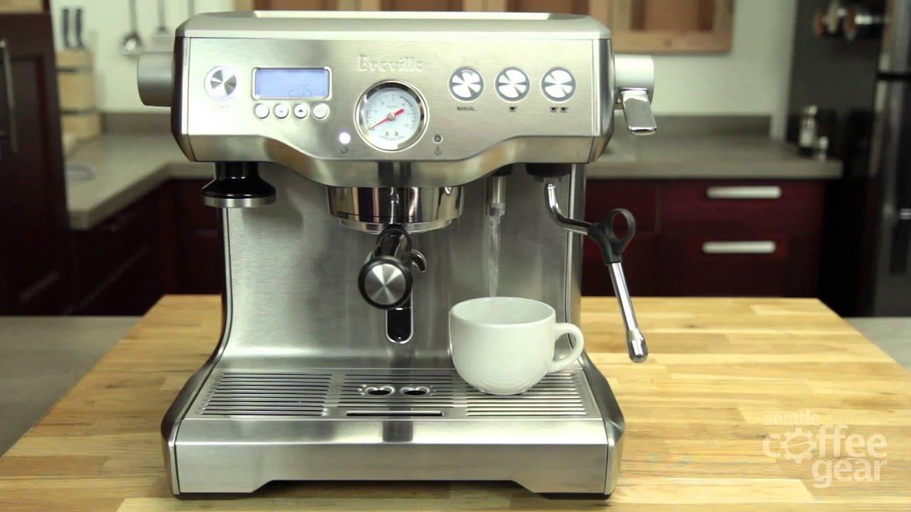 Máy pha cà phê Breville BES920XL Dual Boiler