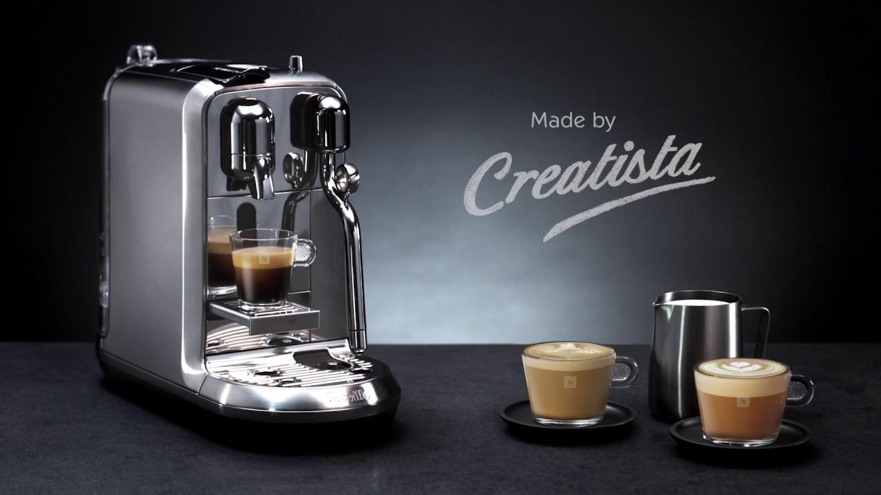 Máy pha cà phê Nespresso Creatista Plus By Breville