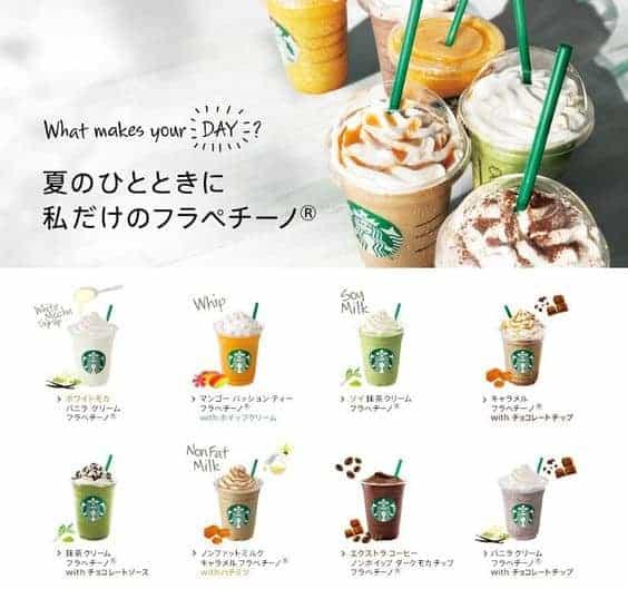Công thức pha chế Starbucks