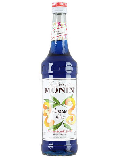 Siro Monin Blue Curacao 700ml
