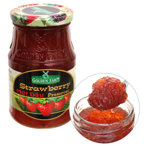 Mứt dâu Preserves Golden Farm 450g