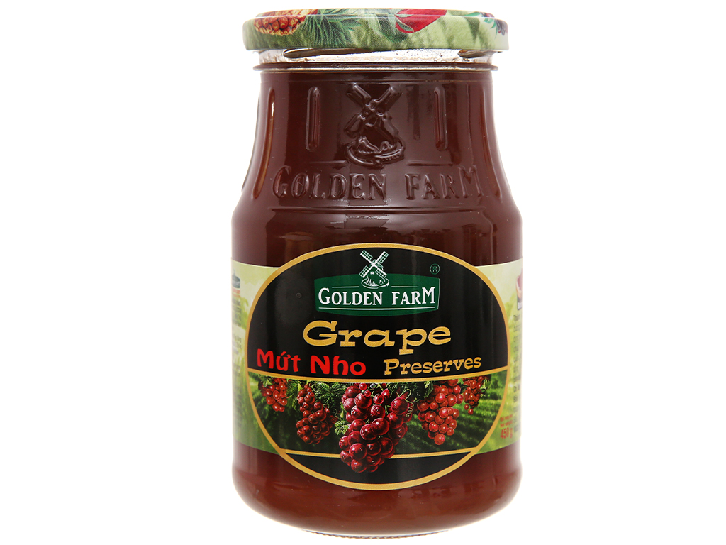 Mứt Nho Golden Farm Preserves 450g