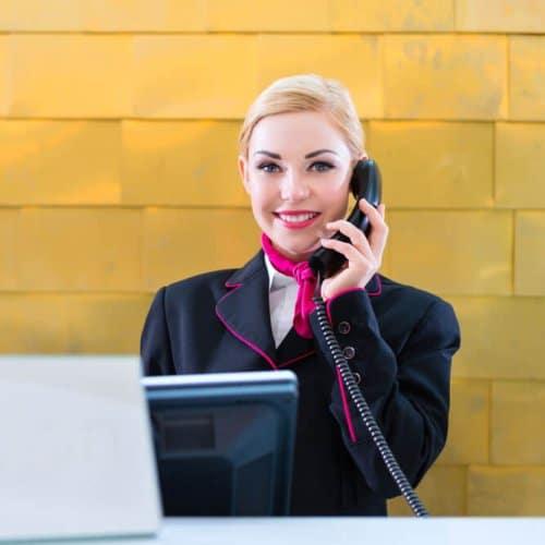 Receptionist là gì Nhiệm vụ của receptionist