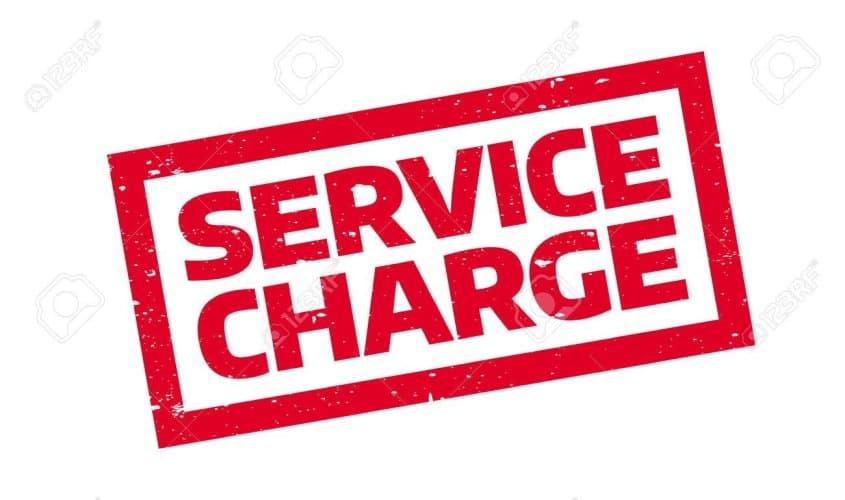 Service charge là gì Ý nghĩa của dịch vụ này là gì