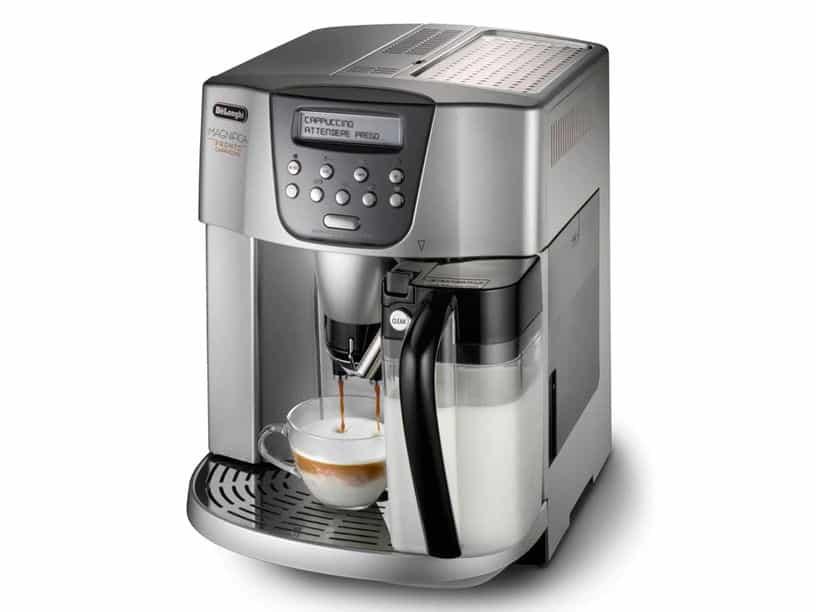 cách sử dụng máy pha cà phê cappuccino tại nhà