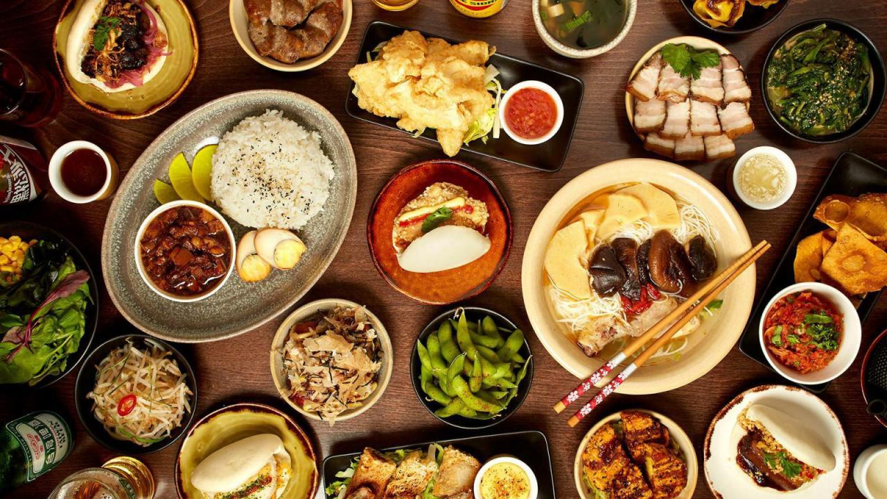 Sự khác nhau giữa ẩm thực phương Đông và phương Tây