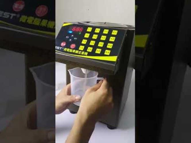Sửa chữa máy định lượng đường tại TP HCM