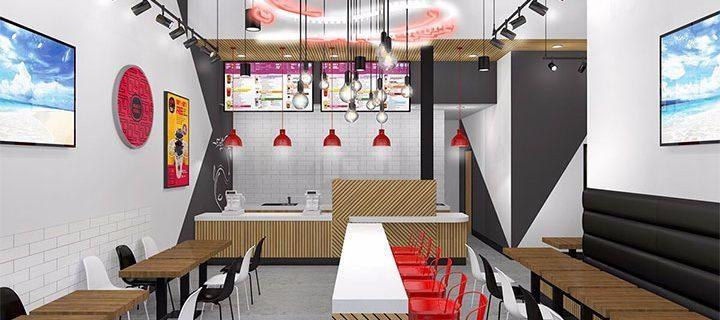 thiết kế quán trà sữa - Tam Long Group