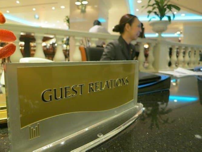 Tìm hiểu chi tiết về guest relation officer