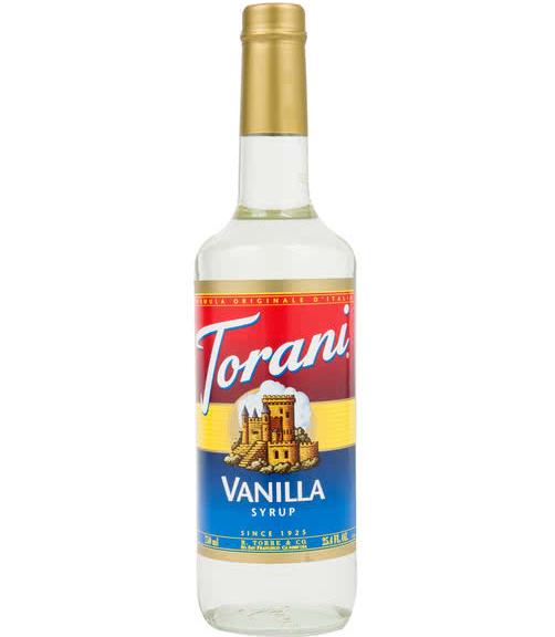 Siro Torani Vanilla 750ml