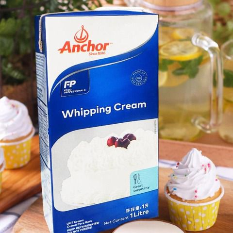 Kem sữa Whipping Cream Anchor 1L